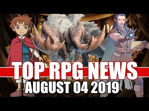 Top RPG News Of The Week - August 04 2019 (Warhammer40k Inquisitor, MHW Iceborne, PoE)