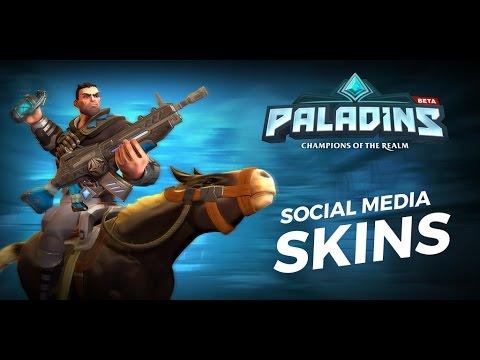 Paladins - Free YouTube, Facebook, & Twitter Skins!