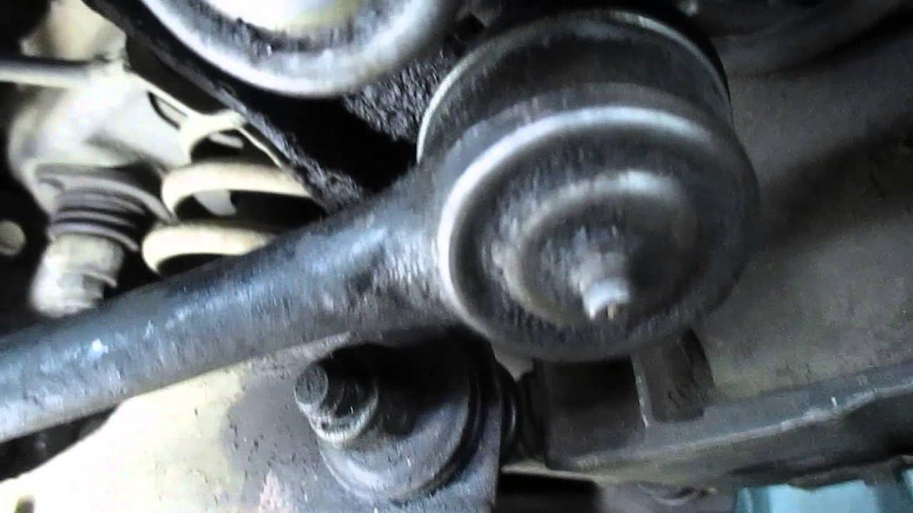 Замена рулевых тяг   видеоинструкция от Monroe