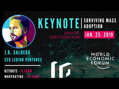 J.D. Salbego Speaks at the World Economic Forum 2019 - Davos