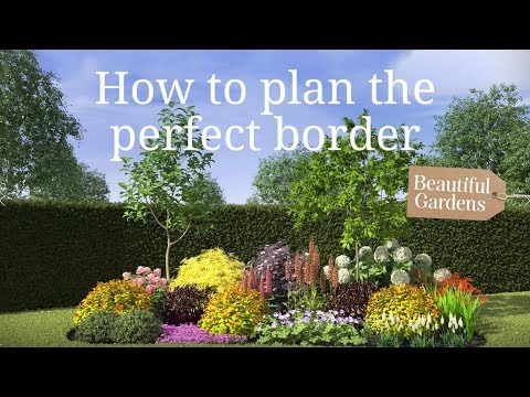 How To Plan The Perfect Border With Frosts Garden Centres Youtube