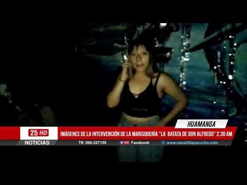 "Intervención a la Marisquería ""La Batata de Don Alfredo"" | Ayacucho - Huamanga |"