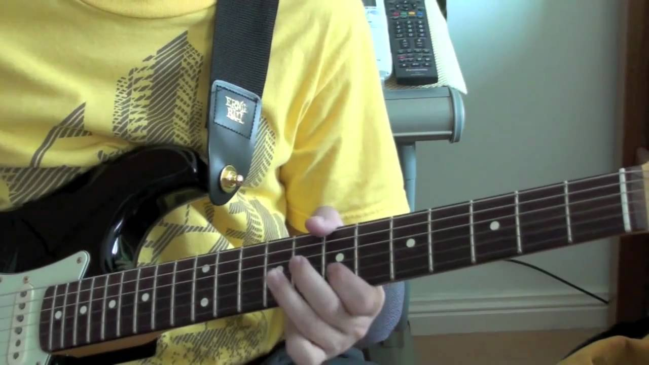 hosanna hillsong united lesson electric guitar fender john mayer blk1 stratocaster youtube. Black Bedroom Furniture Sets. Home Design Ideas