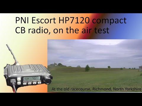 PNI Escort HP7120 Compact CB Radio - On The Air Test