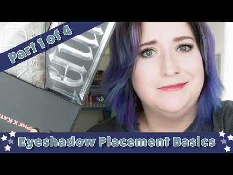 Eyeshadow Placement Basics: Part 1 of 4
