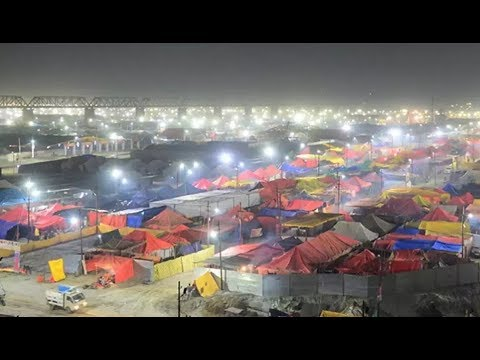Kumbh Mela 2019: Prayagraj lit up for the first Shahi Snan