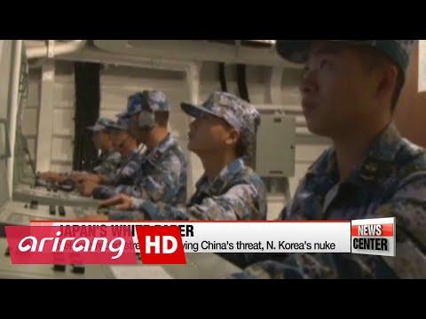Japan's defense paper stresses China's growing threat, N. Korea nuke