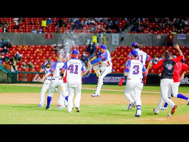 Jugadas destacadas: Caimanes de Barranquilla vs Águilas Cibaeñas - Serie del Caribe 2021