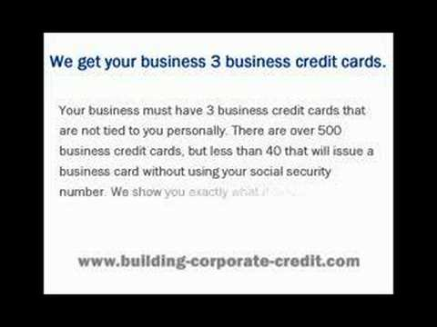 Build corporate credit youtube build corporate credit reheart Choice Image