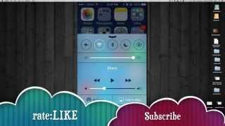 How to use airplay in iOS 7.1.1 iPhone ipad iPod