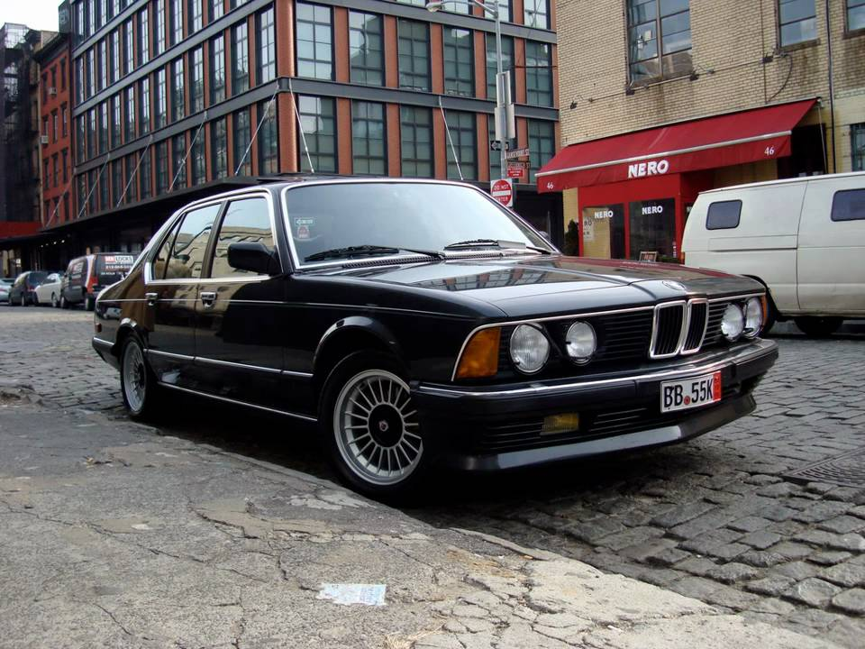 BMW Serii 7 E23 - YouTube