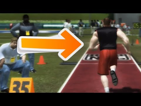 NFL COMBINE AFTER CONVERTING POSITIONS! Madden Superstar Mode