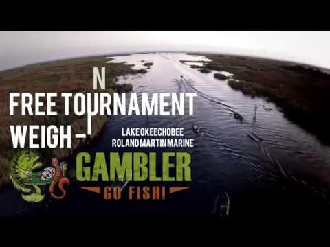 Gambler Free Tournament - Weigh in - Roland Martin Marine Lake Okeechobee
