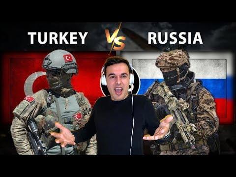 Italian Reaction To 🇹🇷 🇷🇺 Turkey vs Russia military power comparisons 2020