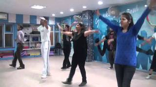 dil lai gayi bhangra steps by lotus dance acacdemy