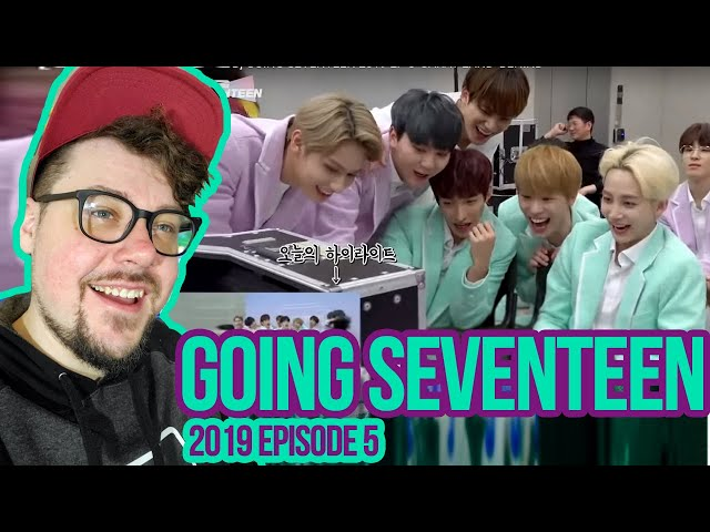 Mikey Reacts to GOING SEVENTEEN 2019: Episode 5