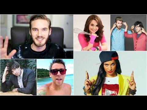 Sepuluh (10) Youtuber dengan Penghasilan Tertinggi di Dunia
