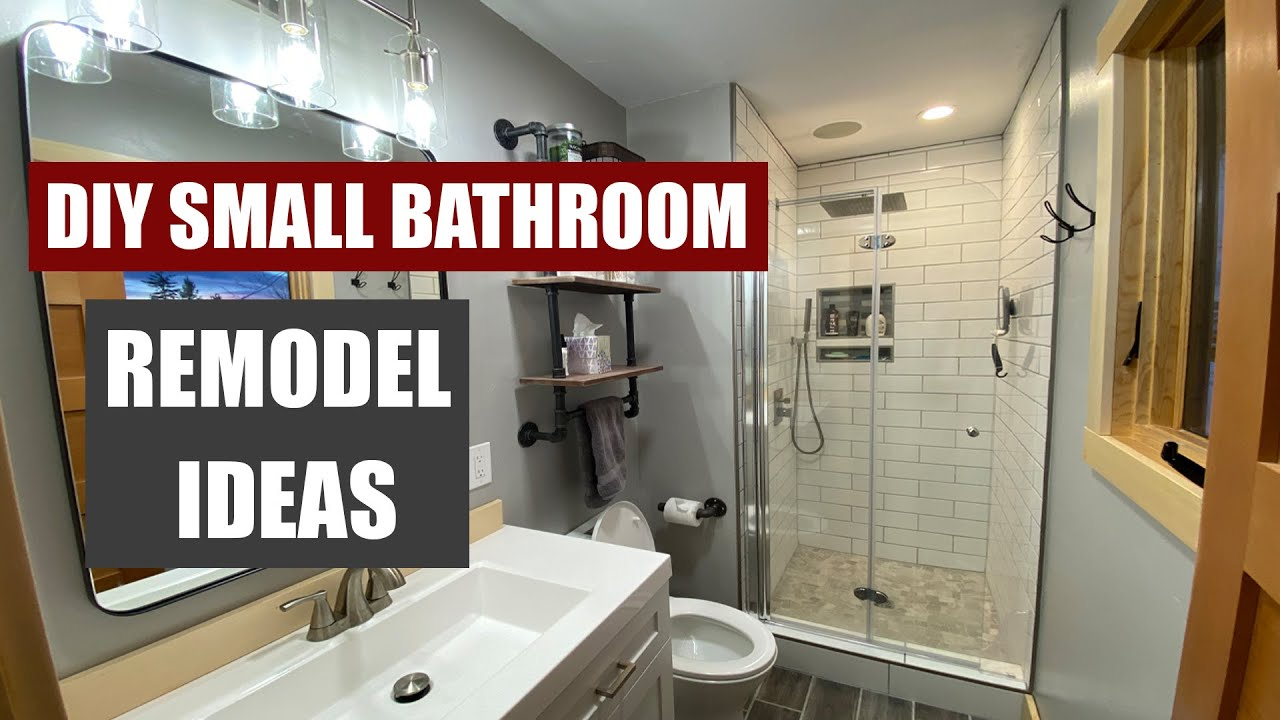 Small Bathroom Remodel Overview Ideas And Inspiration Youtube