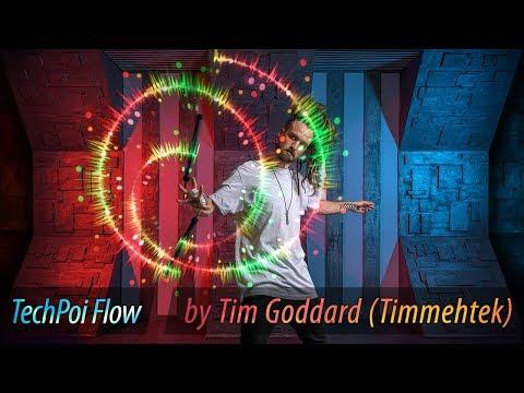 LED Poi | TechPoi Flow With Timmehtek (Tim Goddard)