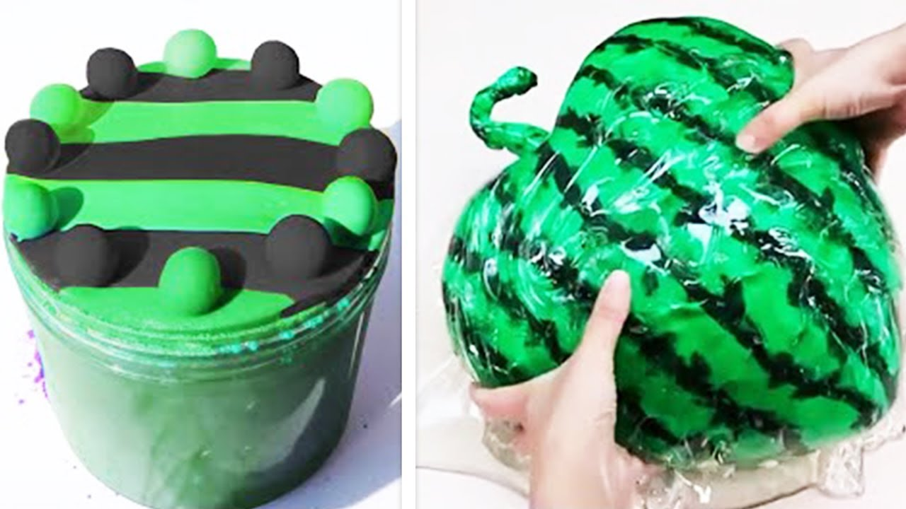 1 Hour Oddly Satisfying Slime ASMR No Music Videos - Relaxing Slime 2020