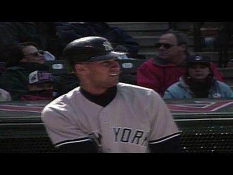 Jeter first career home run