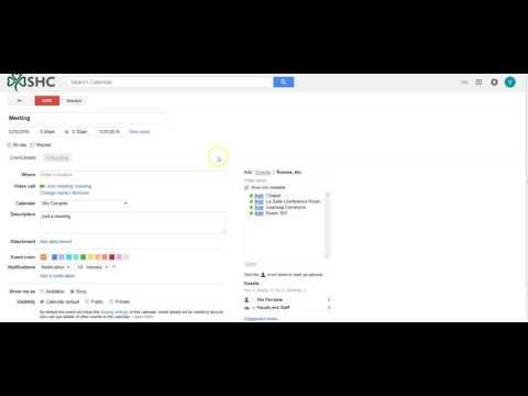 Google: How To Create And Send A Calendar Invite