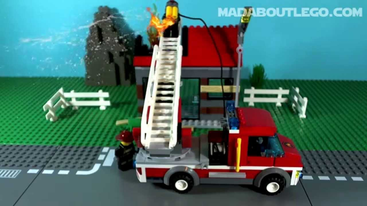 lego city fire youtube. Black Bedroom Furniture Sets. Home Design Ideas