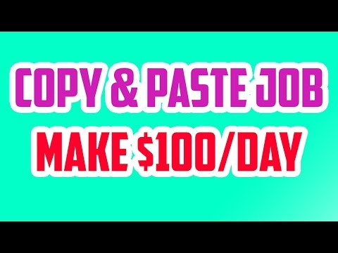 HOW TO MAKE $100 IN 1 HOUR WITH COPY & PASTE for beginners 2019