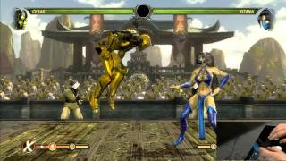 MK9 Cyrax b+2 reset timing/explaination