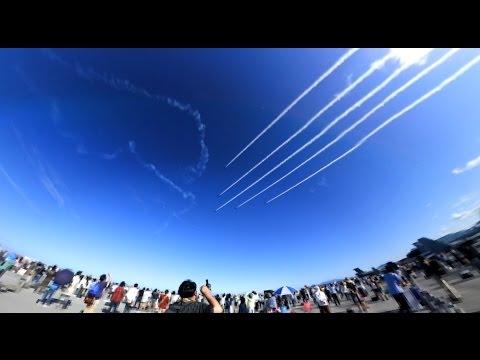 Blue Impulse @ Iwakuni Friendship Day 2017 (360 Video)