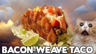 Bacon-weave Taco Recipe! - Food Mashups