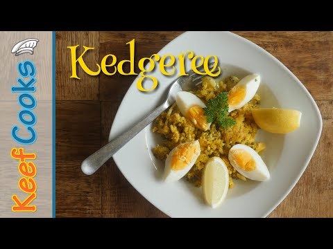 Kedgeree | Curried Rice, Smoked Haddock, Boiled Eggs
