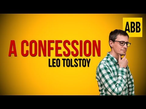 A CONFESSION: Leo Tolstoy - FULL AudioBook
