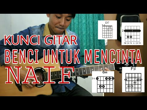 Belajar Kunci Gitar BENCI UNTUK MENCINTA ( NAIF ) - VWGITARKUL