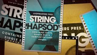 Cinematic strings samples loops - String Rhapsody