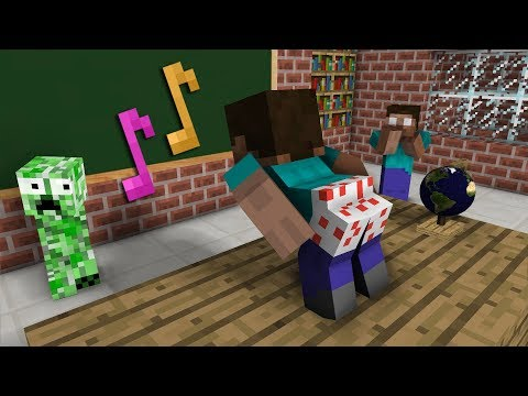 Thumbnail: Monster School: The Mobs Caught Steve Dancing in the Classroom - Minecraft Animation