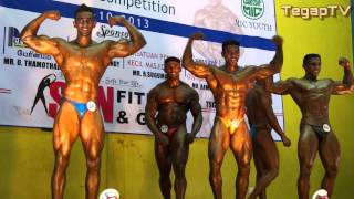 Mr Little India 2013: Above 70kg Category (Closed) Posedown