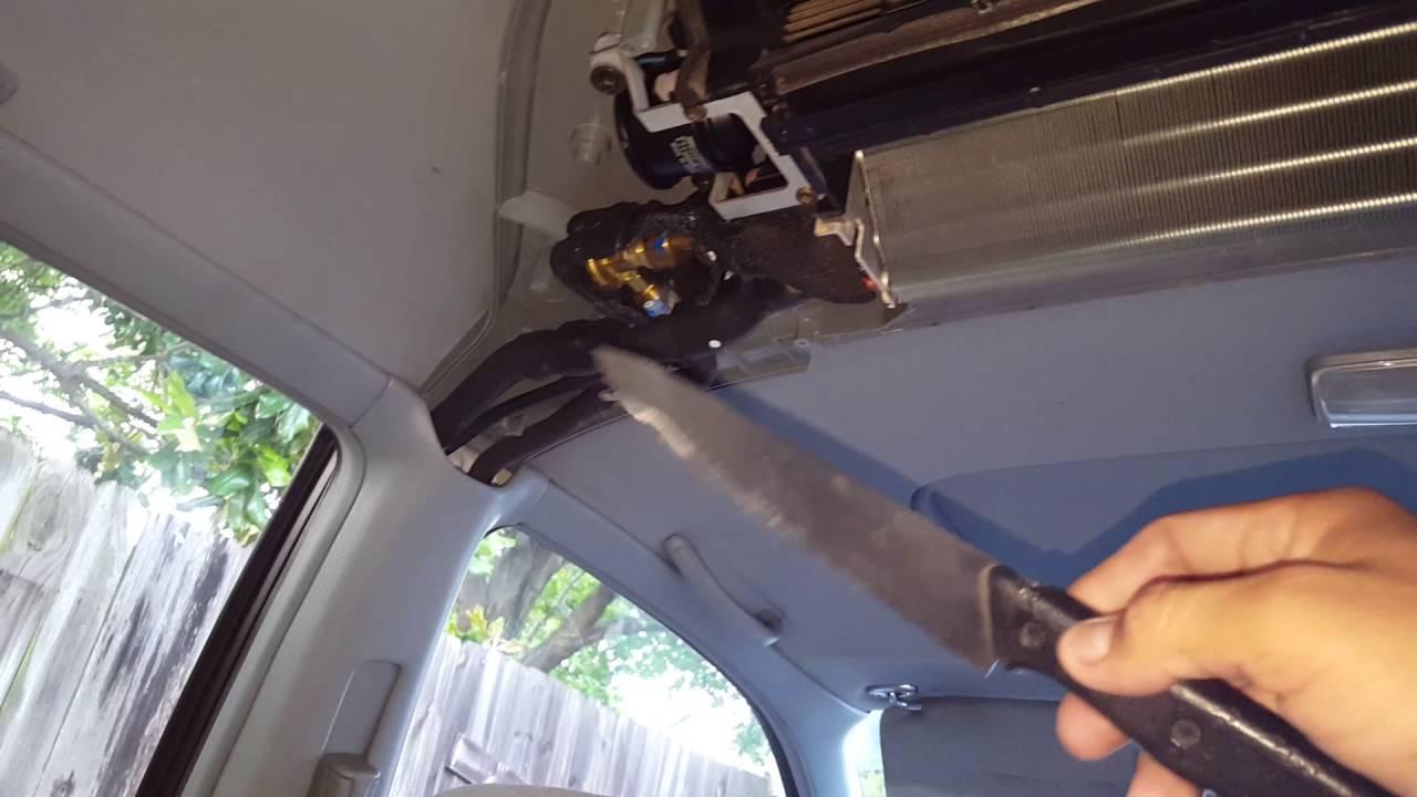 Rear Expansion Valve 1995 Honda Odyssey Youtube