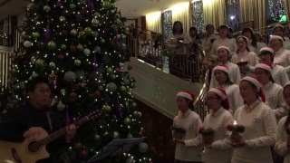 梁式芝書院 LSCC Senior Choir Christmas Carol 2015 2nd Performance