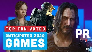 Your Most Anticipated 2020 Video Games - Power Ranking