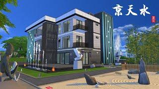 The Sims4 House 模擬市民4 Modern Luxury Car Elevator Apartments \
