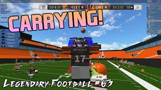 CARRYING! [Legendary Football Funny Moments #63]