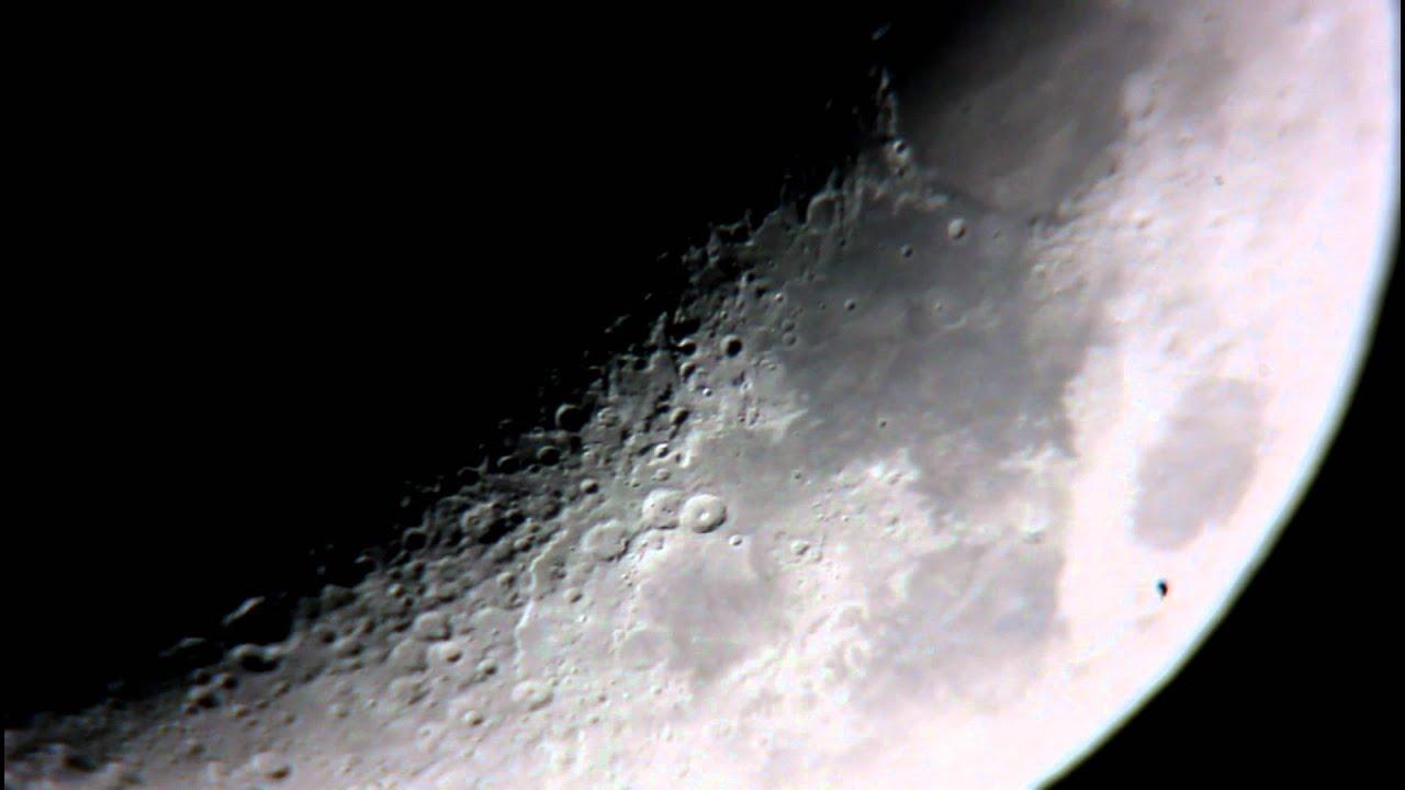 The Moon From A Celestron Nexstar 6SE Telescope YouTube