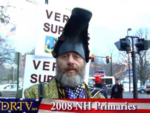 Vermin Supreme - Manchester, NH - NH Primaries 2008