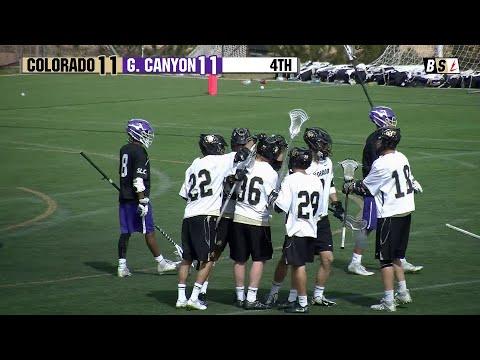 Grand Canyon v. Colorado // D1 Men's Club Lacrosse
