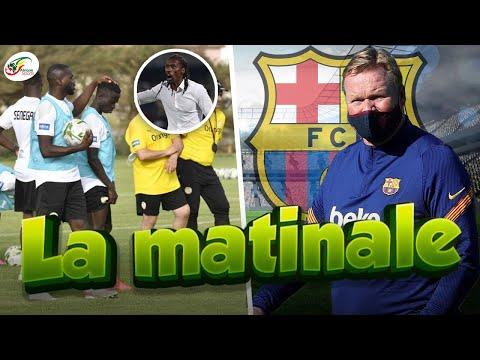 Gros coup dur pour la sélection sénégalaise.. Pourquoi Koeman reste au Barça   MATINALE