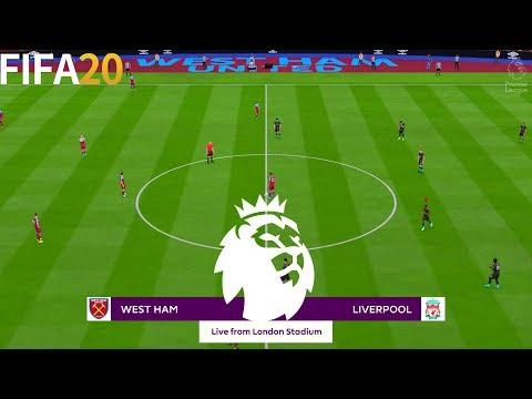 FIFA 20 | West Ham United Vs Liverpool - English Premier League 19/20 - Full Gameplay
