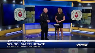 Police Chief Kitzerow Talks School Safety