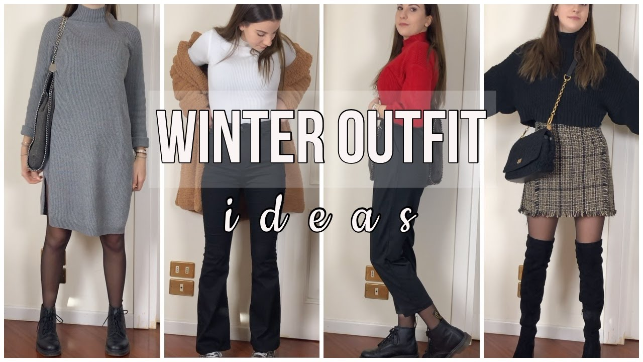 [VIDEO] - WINTER OUTFIT IDEAS|HeiMati 1