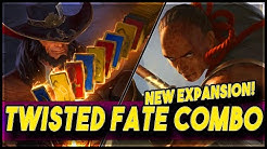Twisted Fate Crazy Combo! | Rising Tides Expansion | LoR New Patch | Legends of Runeterra